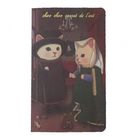 Cuaderno Gatos Matrimonio Arnolfini