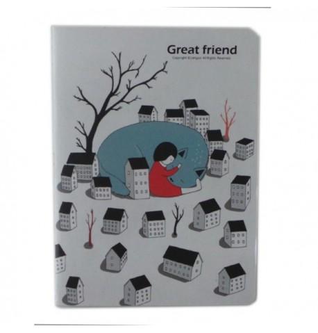 Cuaderno Gato con Abetos