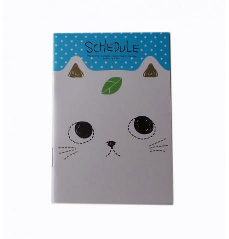 Cuaderno gato blanco