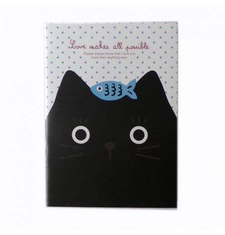 Cuadernos gatos negros