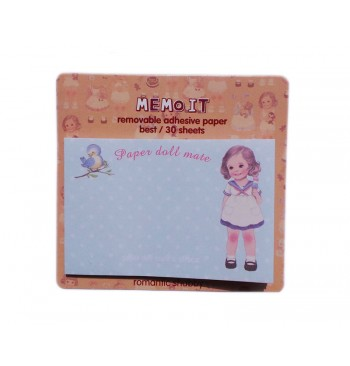 Posits Paper doll Azul