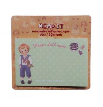 Posits Paper doll Verde