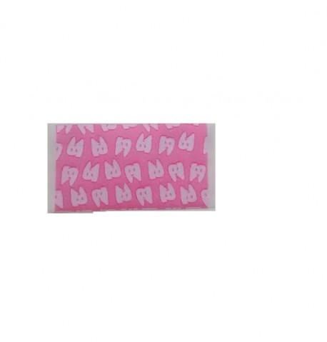mini Felpudo Rosa dientes