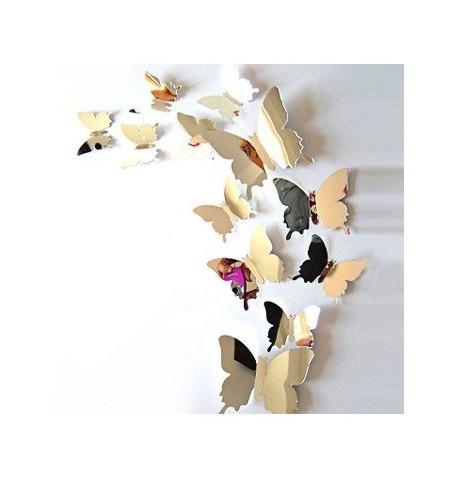 Mariposas adhesivas