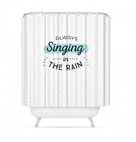 Cortina de baño Singing in the rain