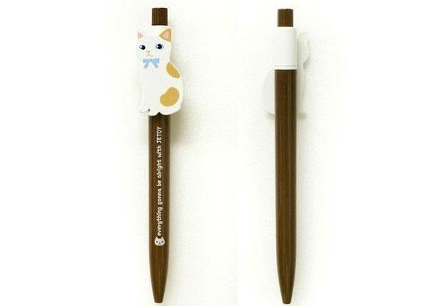 bolígrafos gatos